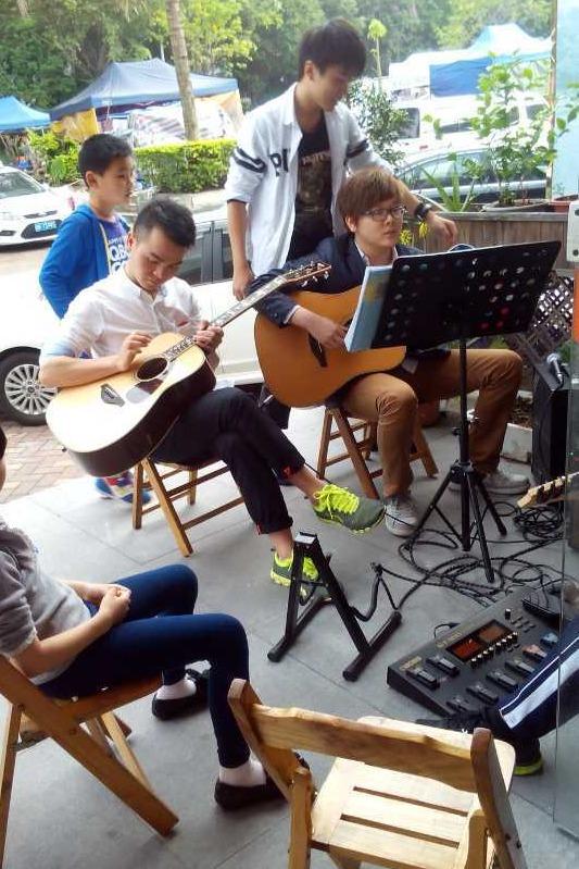 4月3号莲花山吉他音乐教学聚会