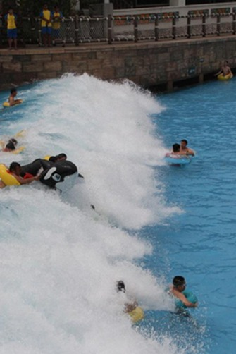7月28、29抚顺热高水上乐园、红河峡谷漂流 两日游活动