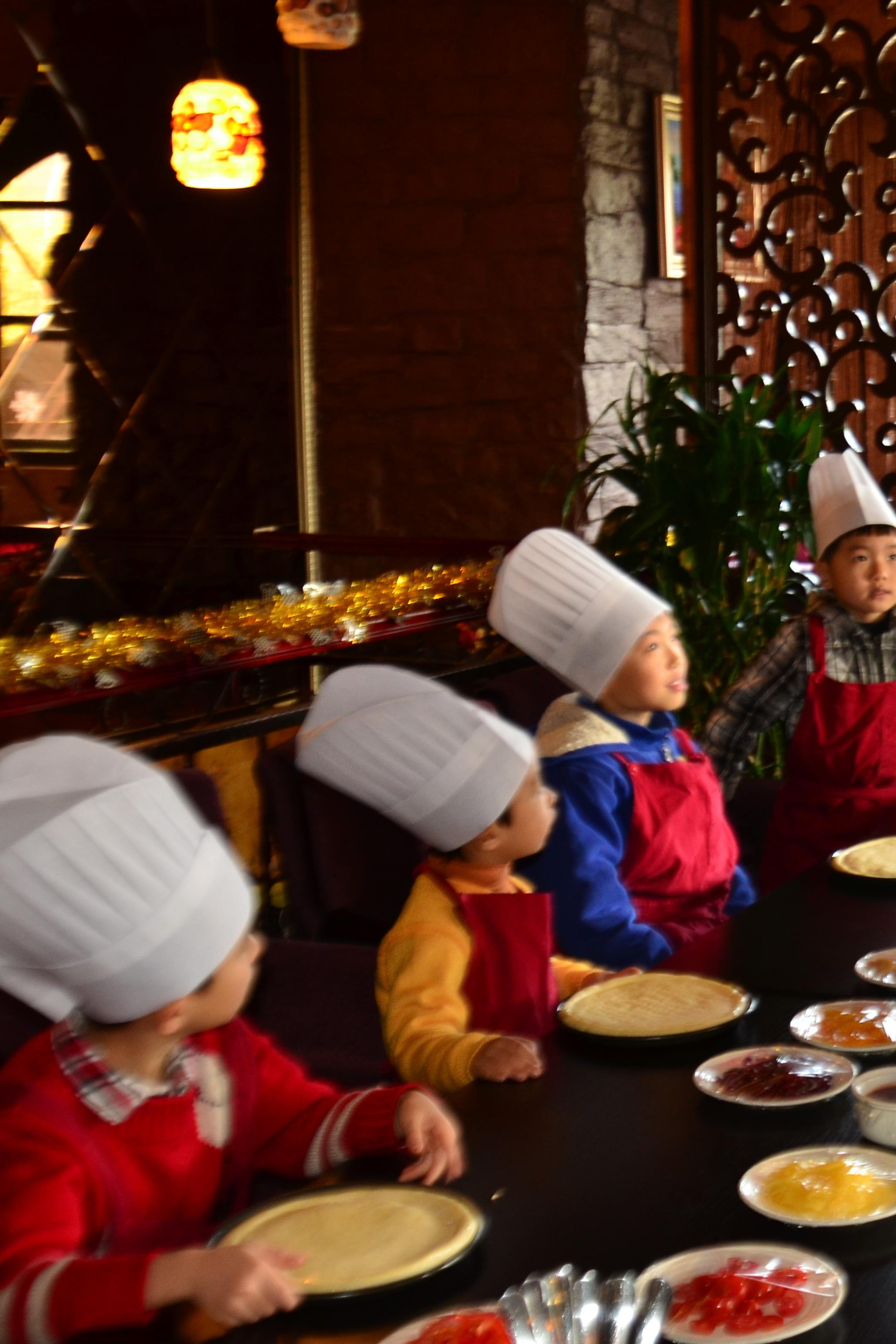 【职业体验】西餐厅里的小厨神(亲子活动)