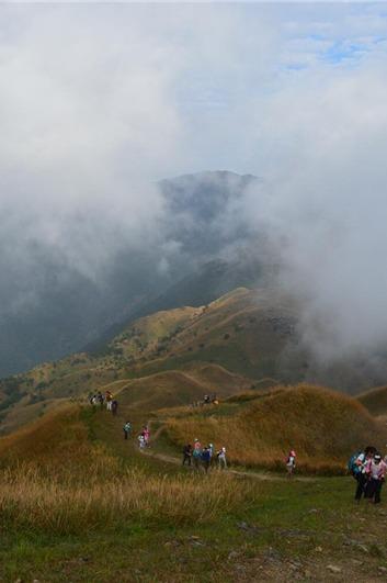 【穿越路线】穿惠东大南山,赏高山芦苇荡