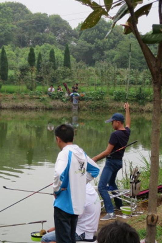 钓鱼钓友友谊赛