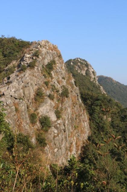 攀深圳最险排牙山,来次让自己脚软的户外旅行