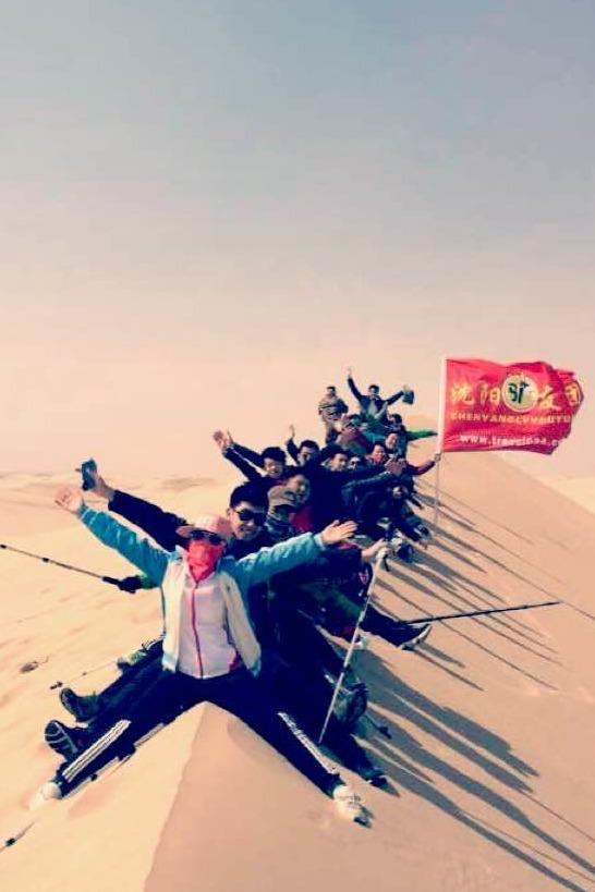 4月5日内蒙古库伦沙漠一日游