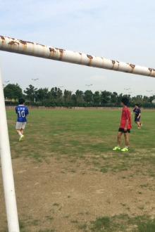 苏州科技城足球训练赛