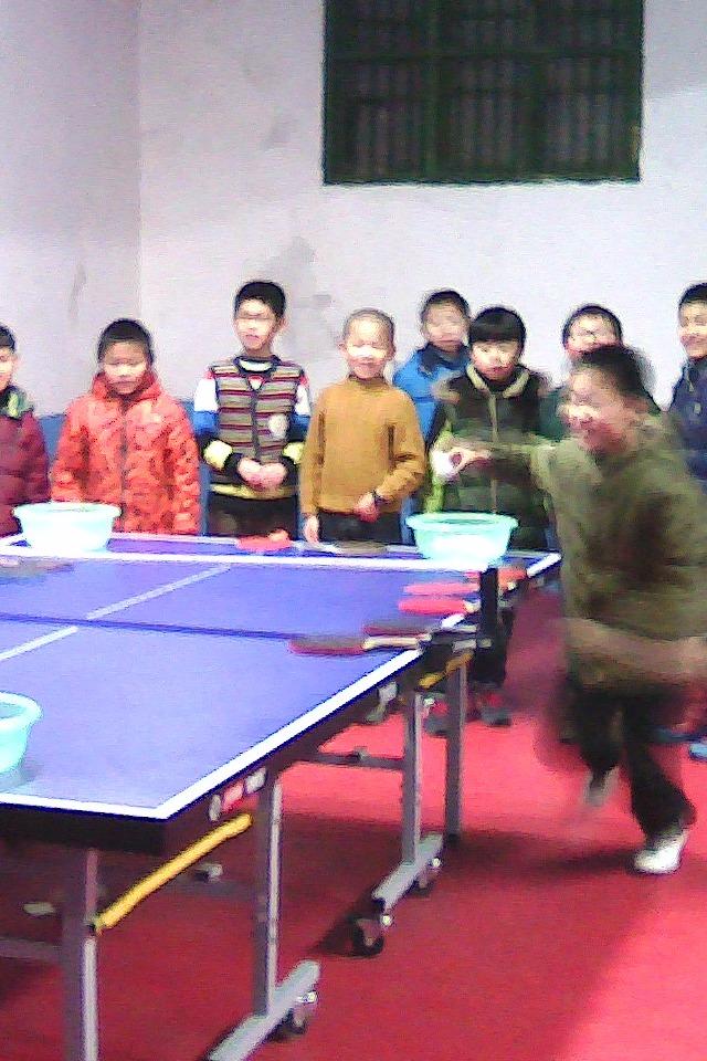 莲花—萍乡中小学生乒乓球交流活动