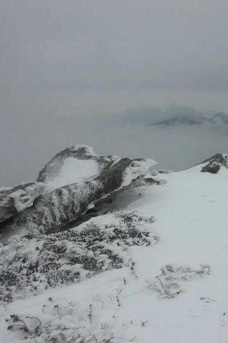 12月25日(周日) 登顶光头山赏雪景,打雪仗