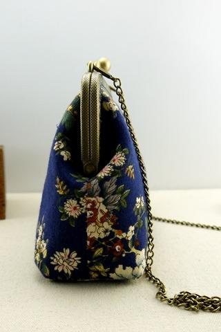 手工课堂:亲手缝制口金包
