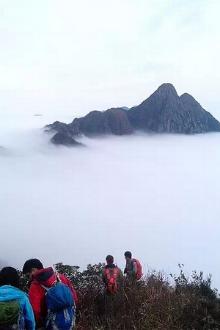 龙斗峰—-有广东三大险峰之一、广东K2之说,海拔1349