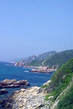 深圳最美海岸海岸穿越-东西冲穿越