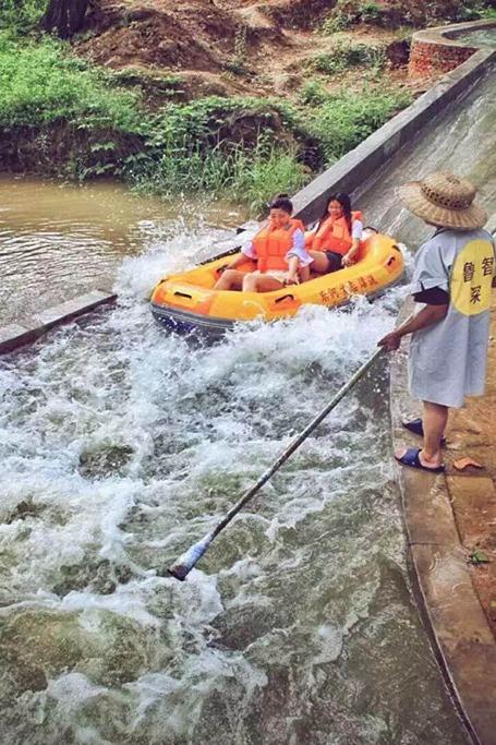 7月23号后河漂流