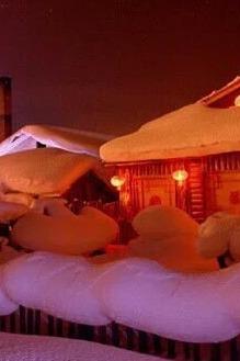 1月8-10日天问户外再次踏上童话里的世界雪乡征途