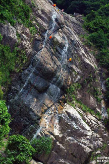 避暑圣地—佛冈观音山戏水、瀑降、开炉腐败