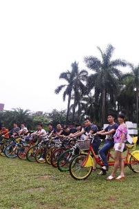 10月1日(本周六) 大夫山骑单车游山玩水活动