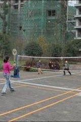 炎炎夏日  免费集体;户外羽毛球友谊赛  你还在等什么