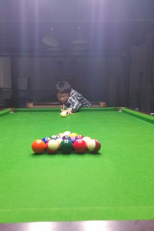 容县中式台球交流赛