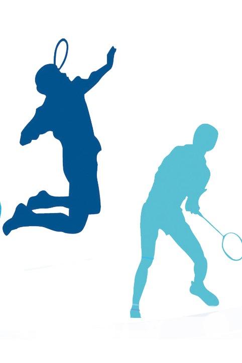 羽毛球运动季