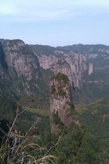 四月二日衢州常山三衢石林