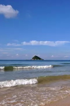 1月24号中国最美海岸线深圳东西冲海岸穿越