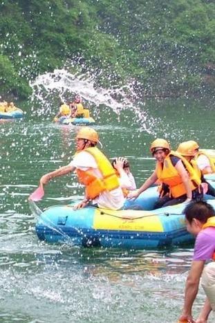 8月9日安吉龙王山激情漂流