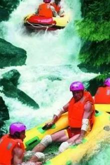 年6月9日与你相约清远古龙峡国际赛道漂流激情水战