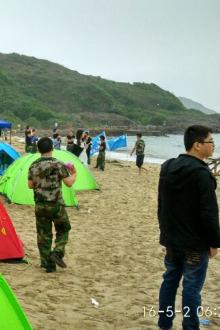 5月14-15日惠州大辣甲岛沙滩篝火露营两日游!