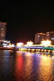 夜游广州珠江