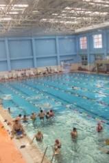 10月5日星期三通化三道江温泉游泳活动