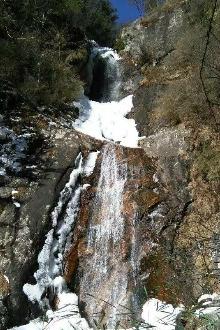 12.18(周日)南岭峡穿越光头山,观奇瀑赏雾淞