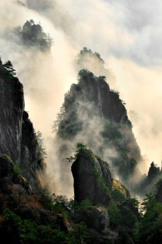 周末(19~20日)洛阳老君山地质公园 观云海 自驾两日游