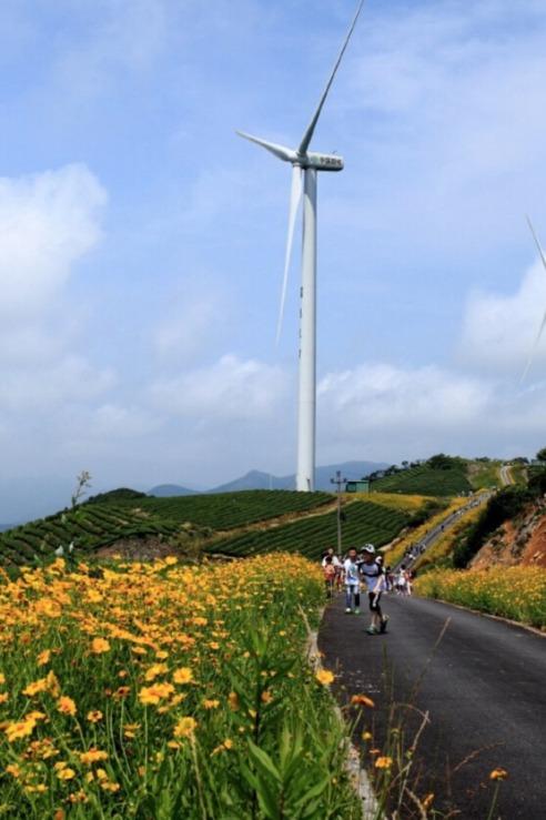 10月16日:最美风车公路徒步之旅