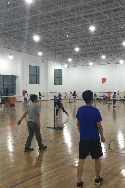趣味羽毛球联谊活动,两小时免费畅玩
