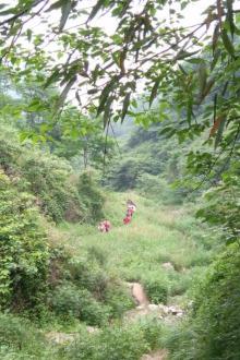 三秦户外徒步营群公告:黄峪穿越白石峪