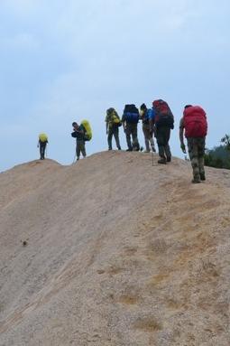 2015年4月3号晚上-5日安徽龙须山,穿越高山沙漠露营报名