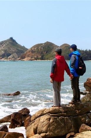 穿越惠东狮子岛,拾贝壳、捡海星,聆听大海的声音