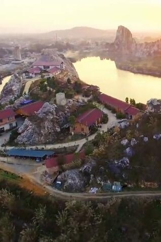 灵山家园网-灵山县奇石湖生态农庄烧烤活动