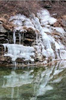 猎日战团约您周六出行焦作云台山景区看冬日风光