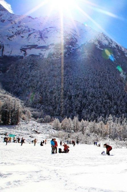 毕棚沟滑雪两天一夜之旅