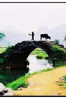 3月8日徒步英西峰林(小桂林)赏梦幻山水田园风光