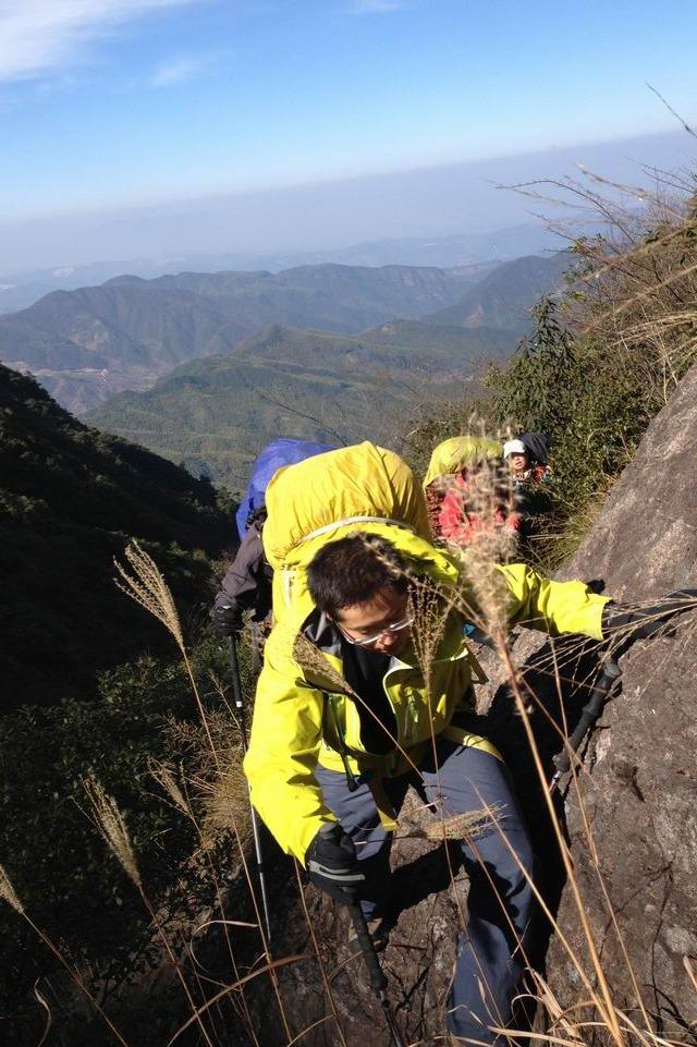 """华东""""狼C""""衢州巨龙顶重装穿越(12月16-18)"""