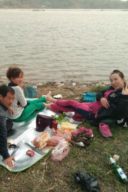 潞城天鹅湖风景区钓鱼烧烤