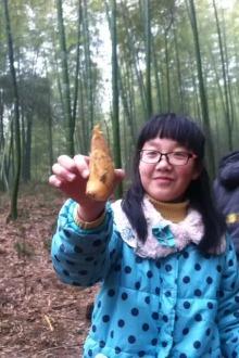 3月8号溧阳深山沟农家乐,挖毛笋(免费带走),烤土鸡