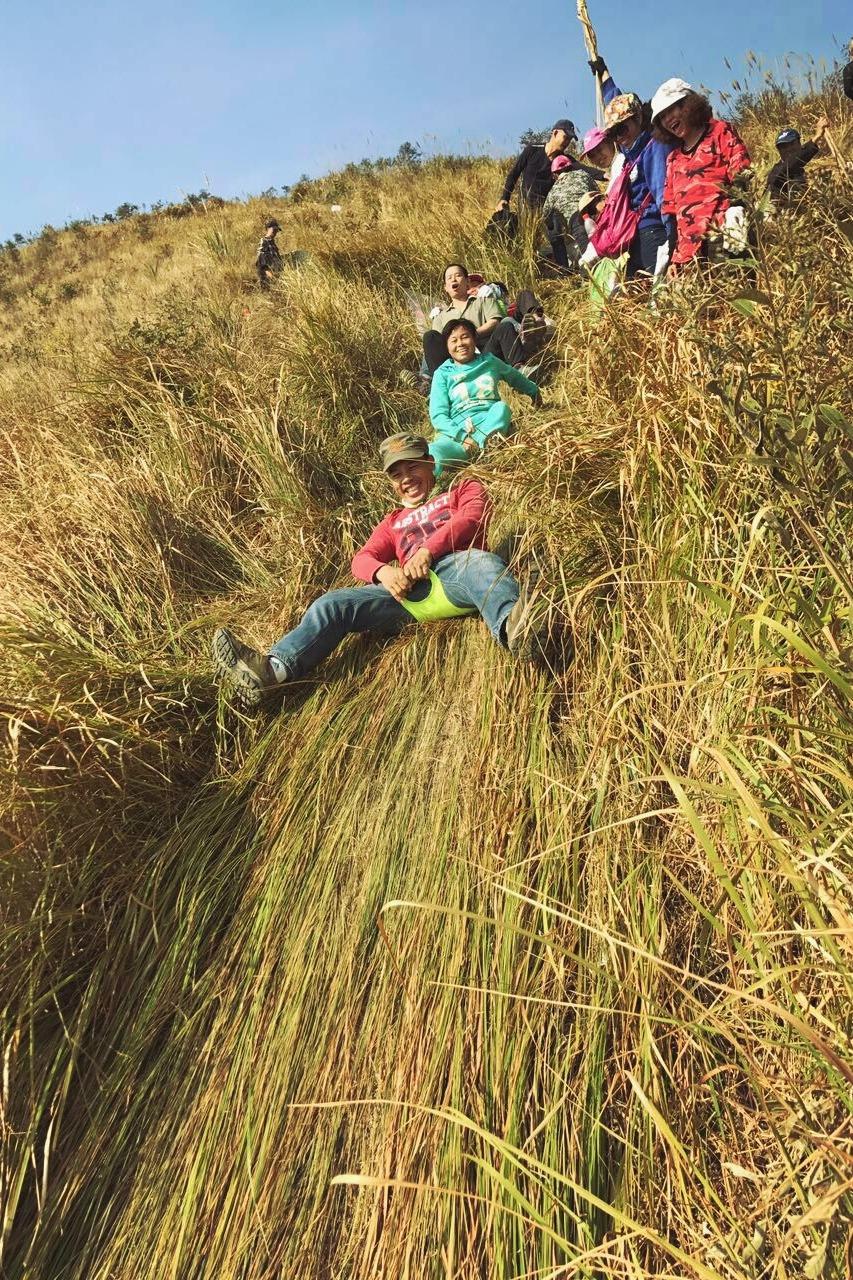 12月10日(周六)柳城大岩山徒步游玩、滑草、摄影