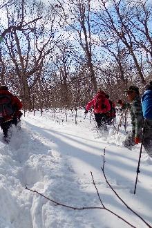 三块石北坡景区野山难忘戏雪之旅