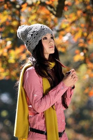 1月3日片片枫叶情,从化石门国家森林公园红叶节
