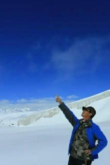 2016年端午节登八一冰川