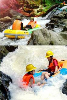 8月14日  清远青龙峡漂流+探险千谷溪