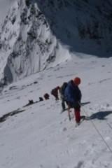 10月1四姑娘之-二峰攀登站在5276米雪山之巅
