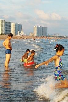 海阳大海沙滩纯休闲零购物零自费两日游