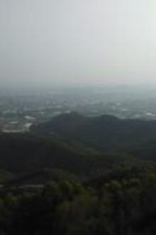 爬后陇大脊岭山,游抗战纪念公园