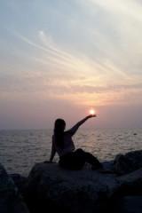 漫步渤海湾